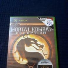 Videojuegos y Consolas: MORTAL KOMBAT DECEPTION XBOX COMPLETO. Lote 162639212