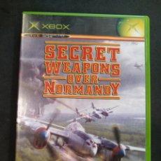 Videojuegos y Consolas: JUEGO XBOX, SECRET WEAPONS OVER NORMANDY. Lote 166127022