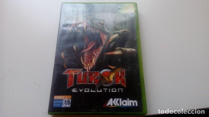 JUEGO TUROK EVOLUTION CONSOLA XBOX NO 360 ONE AKKLAIM AÑO 2002 (Juguetes - Videojuegos y Consolas - Microsoft - Xbox)