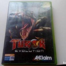 Jeux Vidéo et Consoles: JUEGO TUROK EVOLUTION CONSOLA XBOX NO 360 ONE AKKLAIM AÑO 2002 . Lote 166895220