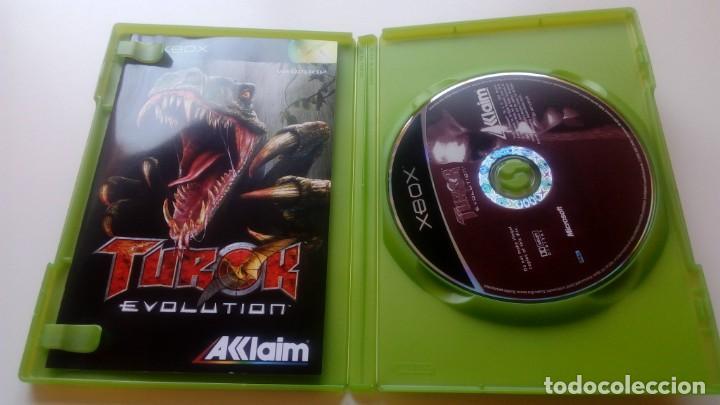 Videojuegos y Consolas: JUEGO TUROK EVOLUTION CONSOLA XBOX NO 360 ONE AKKLAIM AÑO 2002 - Foto 2 - 166895220