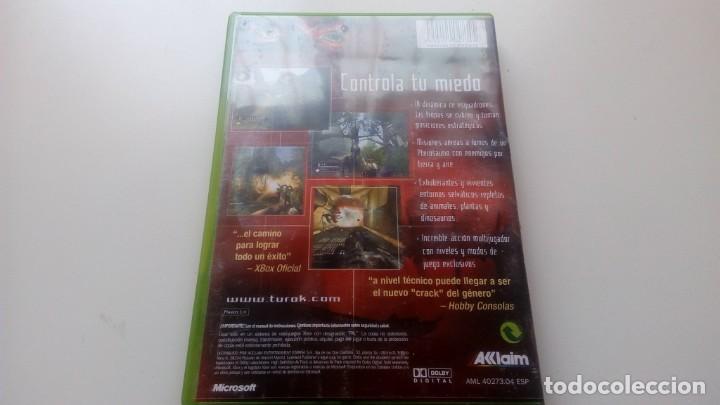 Videojuegos y Consolas: JUEGO TUROK EVOLUTION CONSOLA XBOX NO 360 ONE AKKLAIM AÑO 2002 - Foto 4 - 166895220