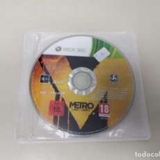 Video Games and Consoles - 619- METRO LAST LIGHT XBOX 360 MICROSOFT VERSIÓN PAL - 168810508