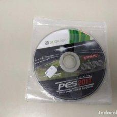 Videojuegos y Consolas: 619- PRO EVOLUTION SOCCER 2011 XBOX 360 MICROSOFT VERSIÓN PAL Nº2. Lote 168812104