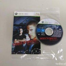 Videojuegos y Consolas: 619- PRISON BREAK THE CONSPIRACY MICROSOFT XBOX 360 VERSION PAL. Lote 169424480