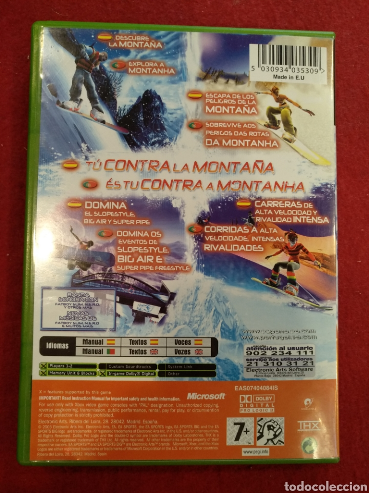 Videojuegos y Consolas: Juego Xbox SSx3. - Foto 3 - 209353265