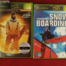 Videojuegos y Consolas: LOTE 2 JUEGOS XBOX, AMPED 2, SNOWBOARDING. Lote 169446714