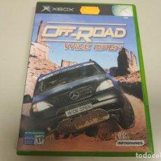 Videojuegos y Consolas: JJ- OFF ROAD WIDE OPEN XBOX VERSION ESPAÑA NUEVO PRECINTADO. Lote 171630922