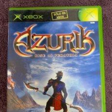 Videojuegos y Consolas: AZURIK XBOX COMPLETO PAL. Lote 172106733