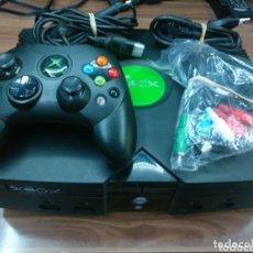 Videojuegos y Consolas: XBOX CLASICA CON DISCO DURO DE 500GB CON 12.000 ROMS Y 160 JUEGOS. Lote 173025740