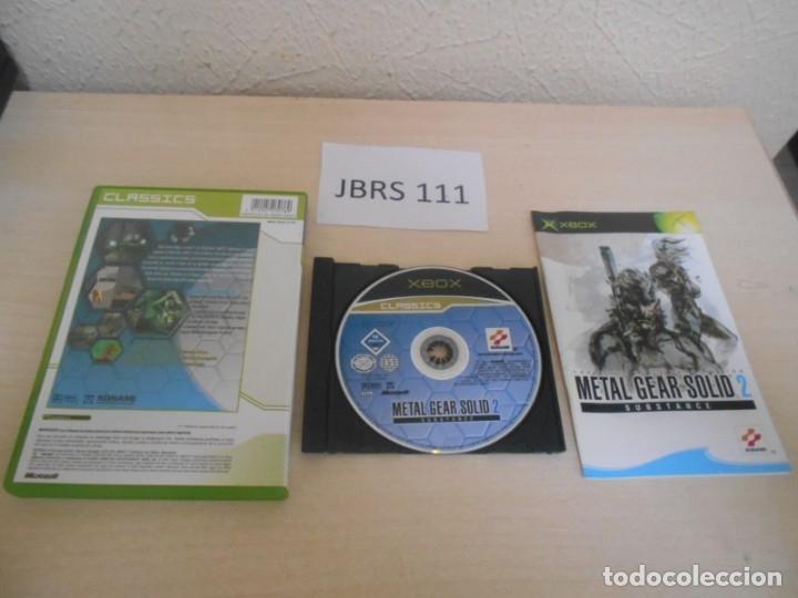 Videojuegos y Consolas: XBOX - METAL GEAR SOLID 2 SUBSTANCE , PAL ESPAÑOL , COMPLETO - Foto 2 - 173794043