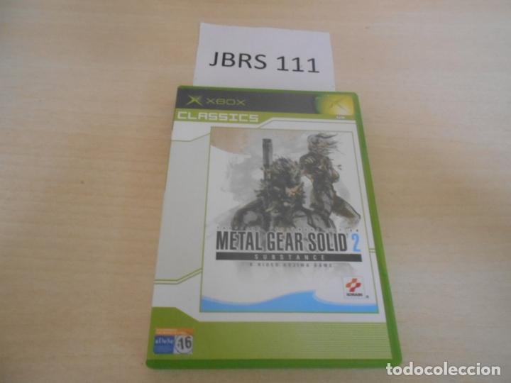 XBOX - METAL GEAR SOLID 2 SUBSTANCE , PAL ESPAÑOL , COMPLETO (Juguetes - Videojuegos y Consolas - Microsoft - Xbox)