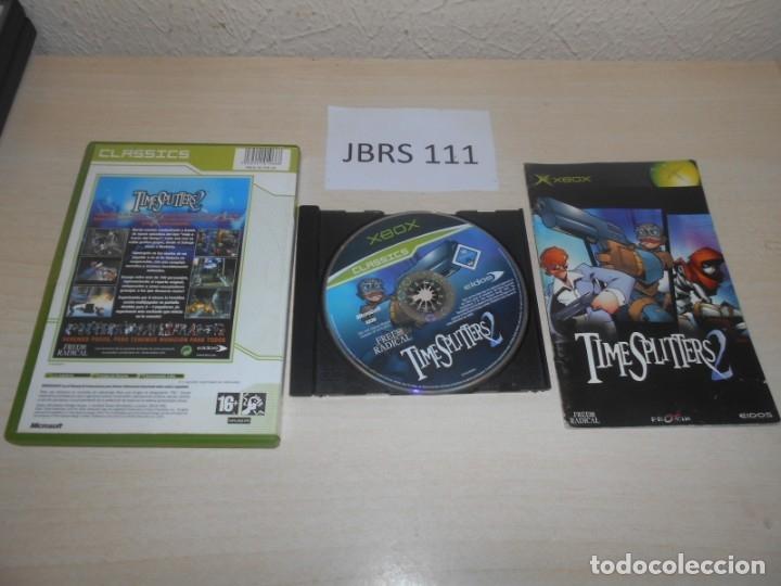 Videojuegos y Consolas: XBOX - TIMESPLITTERS 2 , PAL ESPAÑOL , COMPLETO - Foto 2 - 173794518