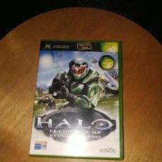 Videojuegos y Consolas: HALO, EL COMBATE HA EVOLUCIÓNADO (XBOX). Lote 173915945