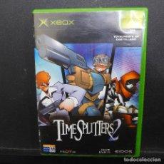 Videojuegos y Consolas: JUEGO PARA XBOX TIME SPLITTERS 2. Lote 179155793