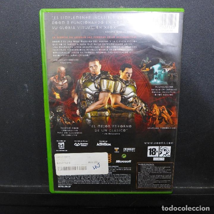 Videojuegos y Consolas: JUEGO PARA XBOX DOOM 3 - Foto 2 - 179161876