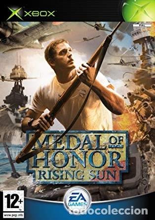 LOTE OFERTA JUEGO XBOX - MEDAL FO HONOR - RISING SUN - BUENO Y CON SU MANUAL (Juguetes - Videojuegos y Consolas - Microsoft - Xbox)