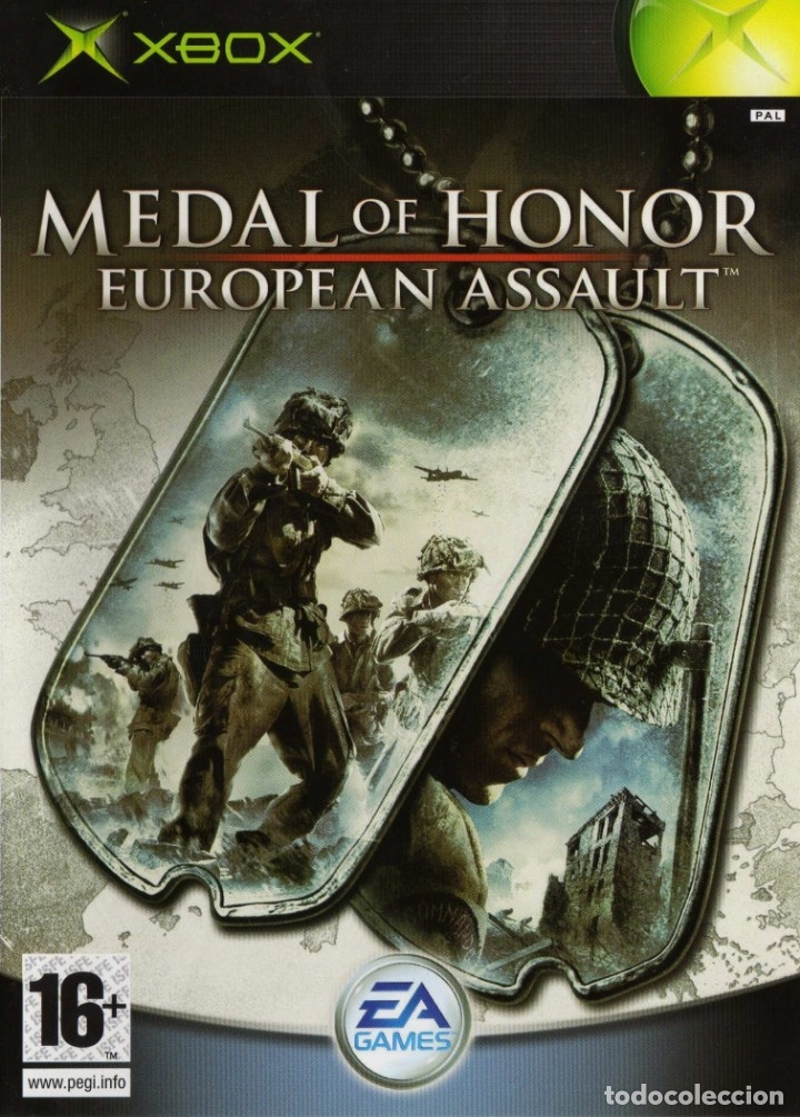 Videojuegos y Consolas: LOTE OFERTA JUEGO XBOX COMPATIBLE 360 - MEDAL OF HONOR - EUROPEAN ASSAULT - con su manual - Foto 1 - 180123291