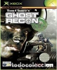 LOTE OFERTA JUEGO XBOX COMPATIBLE 360 - GHOST RECON (EL PRIMER JUEGO) - CON SU MANUAL (Juguetes - Videojuegos y Consolas - Microsoft - Xbox)