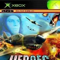 Videojuegos y Consolas: LOTE OFERTA JUEGO XBOX - HEROES OF THE PACIFIC - MUY NUEVO Y CON MANUAL. Lote 180127758
