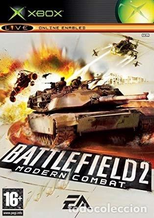 LOTE OFERTA JUEGO XBOX - BATTLEFIELD 2 - MODERN COMBAT - MUY NUEVO Y CON MANUAL (Juguetes - Videojuegos y Consolas - Microsoft - Xbox)