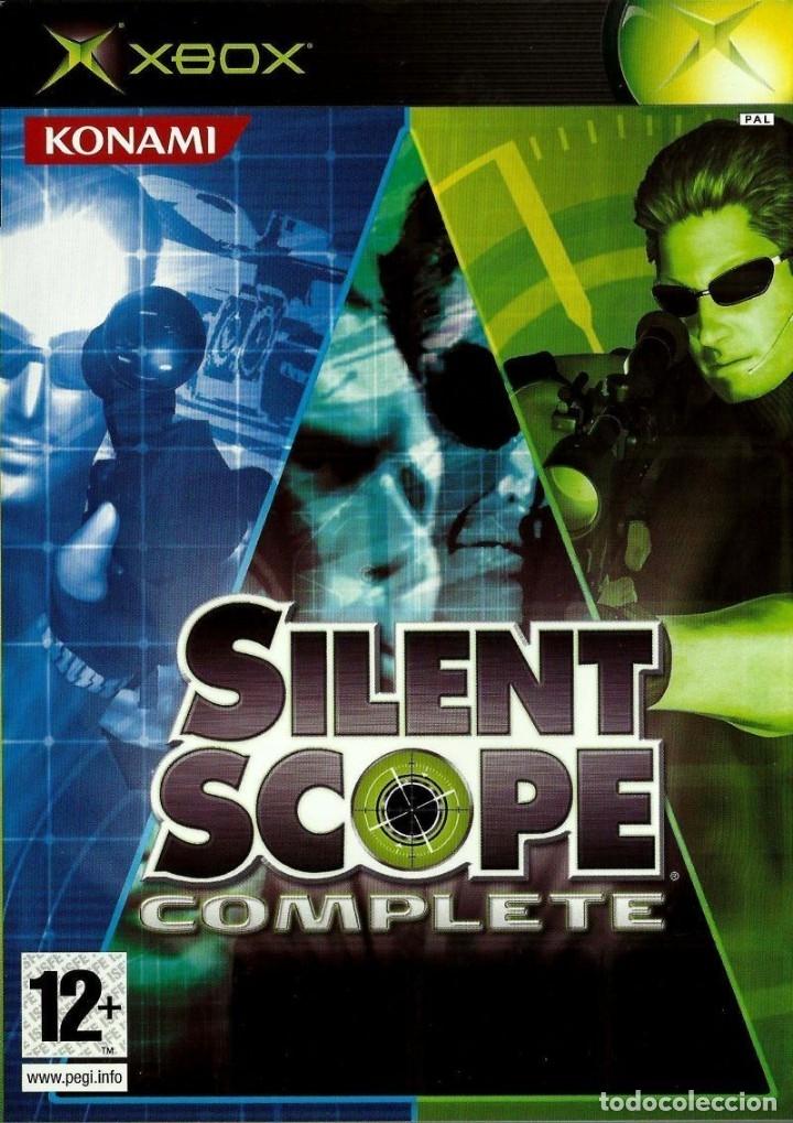 LOTE OFERTA JUEGO XBOX - SILENT SCOPE - COMPLETE - MUY NUEVO Y CON MANUAL (Juguetes - Videojuegos y Consolas - Microsoft - Xbox)