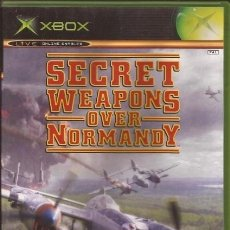 Videojuegos y Consolas: LOTE OFERTA JUEGO XBOX - SECRET WEAPONS OVER NORMANDY - BUENO Y CON MANUAL. Lote 180130290
