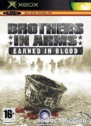 LOTE OFERTA JUEGO XBOX - BROTHERS IN ARMS - EARNED IN BLOOD - BUENO Y CON MANUAL (Juguetes - Videojuegos y Consolas - Microsoft - Xbox)