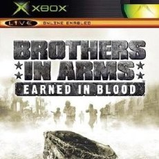 Videojuegos y Consolas: LOTE OFERTA JUEGO XBOX - BROTHERS IN ARMS - EARNED IN BLOOD - BUENO Y CON MANUAL. Lote 180130711
