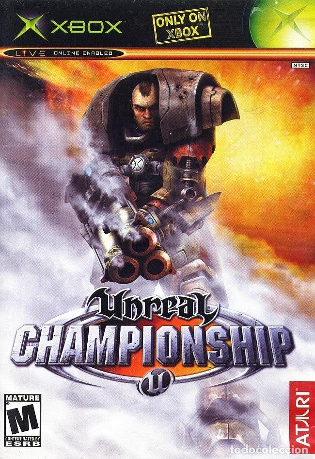 LOTE OFERTA JUEGO XBOX - UNREAL CHAMPIONSHIP - BUENO Y CON MANUAL (Juguetes - Videojuegos y Consolas - Microsoft - Xbox)