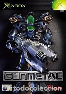LOTE OFERTA JUEGO XBOX - GUNMETAL - Y CON MANUAL (Juguetes - Videojuegos y Consolas - Microsoft - Xbox)