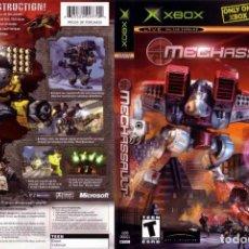 Videojuegos y Consolas: LOTE OFERTA JUEGO XBOX - MECHASSAULT - Y CON MANUAL. Lote 180133606