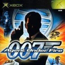 Videojuegos y Consolas: LOTE OFERTA JUEGO XBOX - 007 AGENT UNDER FIRE - SIN MANUAL. Lote 180134407