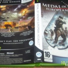 Videojuegos y Consolas: MEDAL OF HONOR EUROPEAN ASSAULT. XBOX. PAL. . Lote 180142228