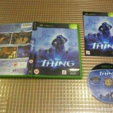 Videojuegos y Consolas: XBOX THE THING PAL UK XBOX MICROSOFT KONAMI. Lote 184270260