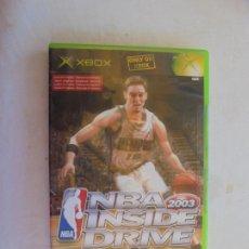 Videojuegos y Consolas: NBA INSIDE DRIVE 2003 X BOX . Lote 187394301