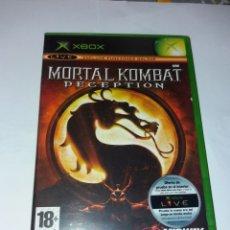 Jeux Vidéo et Consoles: XBOX MORTAL KOMBAT DECEPTION. Lote 217286252
