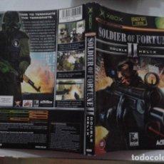 Videojuegos y Consolas: SOLDIER OF FORTUNE II. (SOLO CARATULA). Lote 191488740