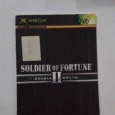 Videojuegos y Consolas: SOLDIER OF FORTUNE II. (SOLO MANUAL). Lote 191488792
