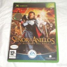 Jeux Vidéo et Consoles: JUEGO EL SEÑOR DE LOS ANILLOS EL RETORNO DEL REY MICROSOFT XBOX. Lote 193192168
