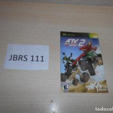 Videojuegos y Consolas: GUIAS - ATV2 - INSTRUCIONES PARA XBOX , EN CASTELLANO. Lote 193336411