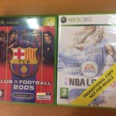 Videojuegos y Consolas: MICROSOFT XBOX CLUB FOOTBALL BARCELONA 2005. Lote 194111772