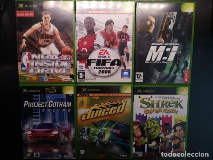 6 JUEGOS XBOX CLASSIC FAT (Juguetes - Videojuegos y Consolas - Microsoft - Xbox)