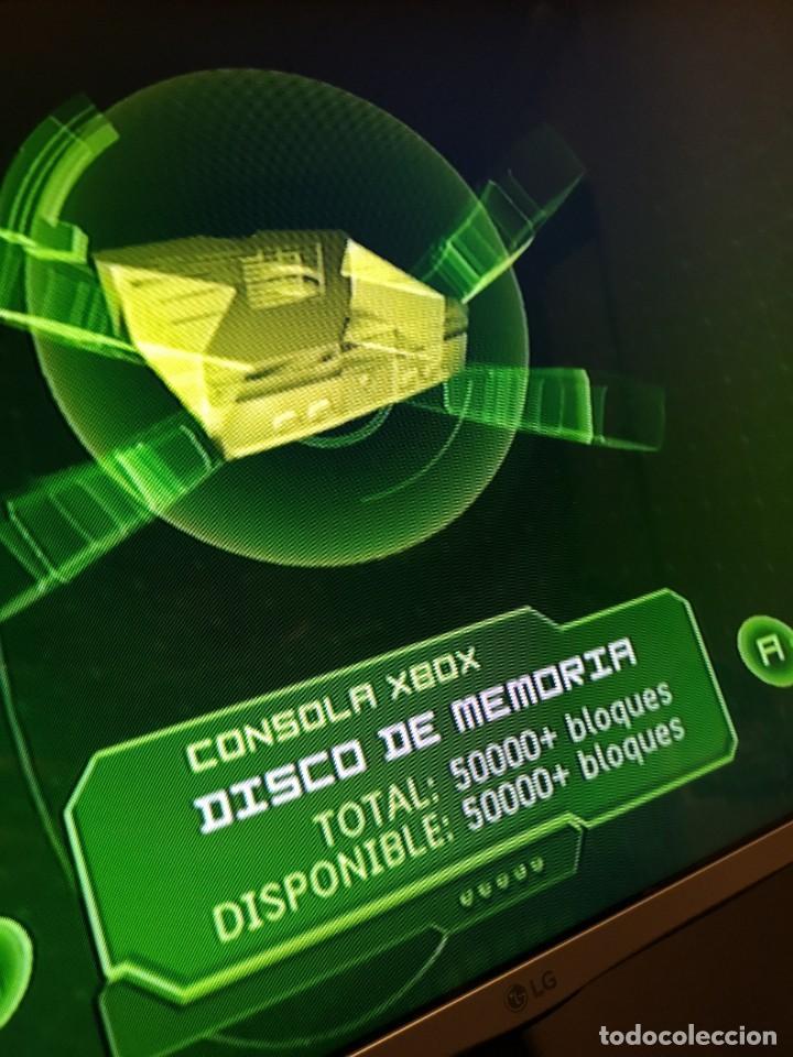 Videojuegos y Consolas: consola xbox classic 2001 fat verde oscuro - Foto 4 - 194527671