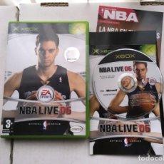 Videojuegos y Consolas: NBA LIVE 06 XBOX X-BOX KREATEN PAU GASOL. Lote 194625071