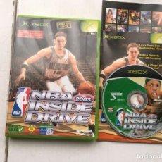 Videojuegos y Consolas: NBA INSIDE DRIVE 2003 PAU GASOL XBOX X-BOX KREATEN . Lote 194626113