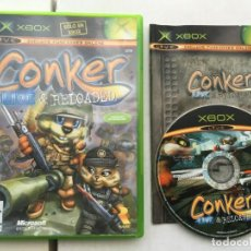 Videojuegos y Consolas: CONKER LIVE & RELOADED CONQUER XBOX X-BOX MICROSOFT EXCLUSIVO KREATEN. Lote 194970143