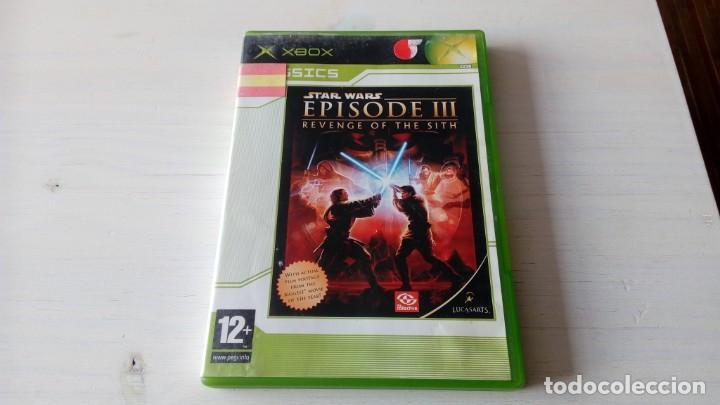 JUEGO XBOX STAR WARS EPISODE III REVENGE OF THE SITH NO 360 ONE FUNCIONANDO PERFECTAMENTE (Juguetes - Videojuegos y Consolas - Microsoft - Xbox)