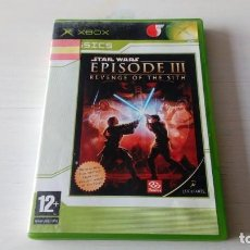 Videojuegos y Consolas: JUEGO XBOX STAR WARS EPISODE III REVENGE OF THE SITH NO 360 ONE FUNCIONANDO PERFECTAMENTE . Lote 195740021