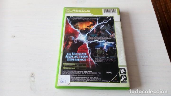 Videojuegos y Consolas: Juego Xbox star wars episode III revenge of the sith no 360 one funcionando perfectamente - Foto 4 - 195740021